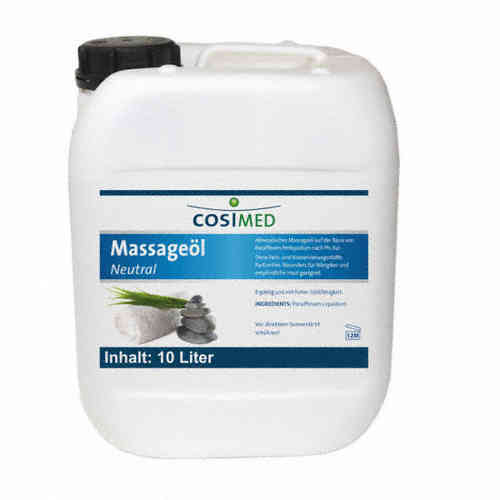 Massageöl neutral 10 Liter Kanister